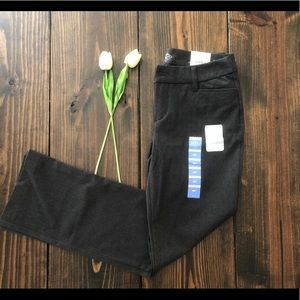 NWT Petite St. John's Bay Gray Dress Pants 4P